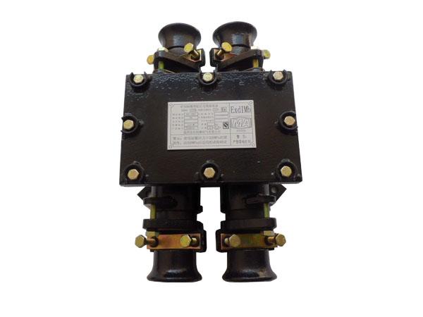 """5 产品型式 接线盒的防爆型式为矿用隔爆型,防爆标志为""""exdimb""""."""
